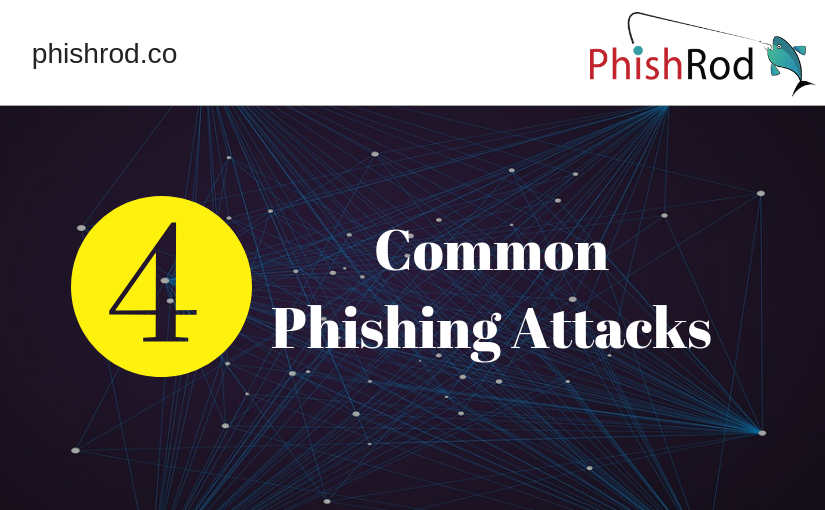 4 Common Phishing Attacks