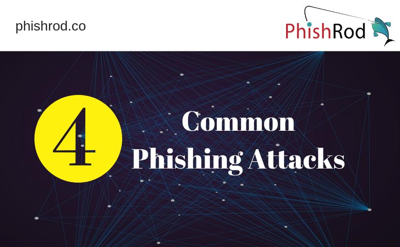 4 Common Phishing Attacks